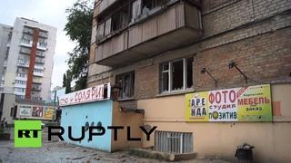В Луганске в результате артобстрела погибли 15 мирных жителей