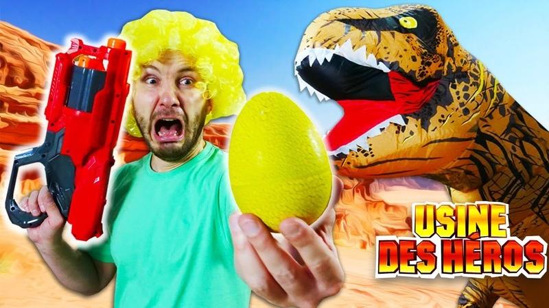 Vidéos drôles avec les clowns et leurs Nerf blasters Les jeux de tir