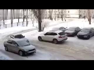 Несколько аварий за один час...