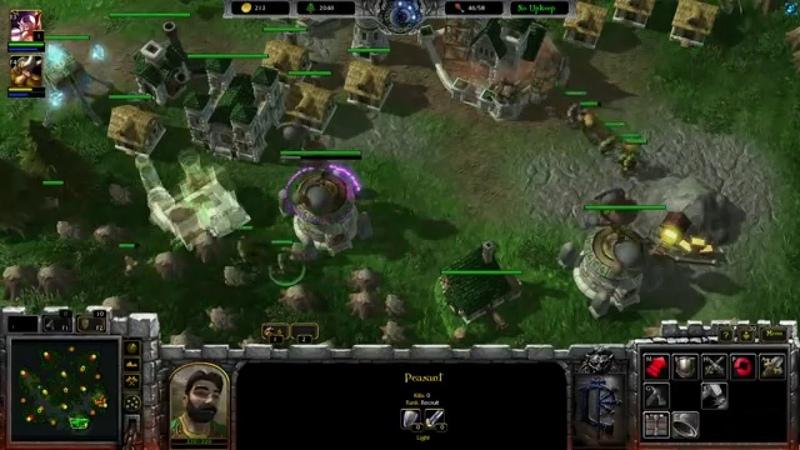 Новая жизнь WarCraft 3 в Starcraft 2 - мод Armies of Azeroth