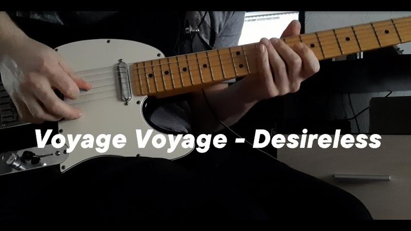 Voyage Voyage - Desireless - Electric Guitar Cover