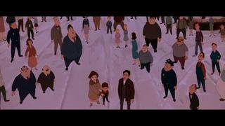 Финальный отрывок, Стальной Гигант спасает город от уничтожения (Стальной Гигант/The Iron Giant)1999