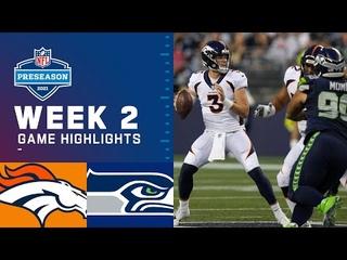 Denver Broncos vs. Seattle Seahawks | Preseason Week 2 2021 Game Highlights