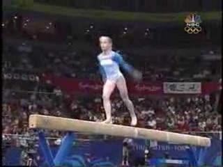Yelena Zamolodchikova - 2000 Olympics Team Finals - Balance Beam