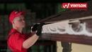Установка водосточной системы Винилон на дом, отделанный сайдингом