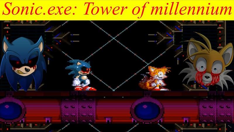 Сарк против Иннера Грандиознейший идеал 4 | Sonic.exe Tower of millennium (1 Часть)