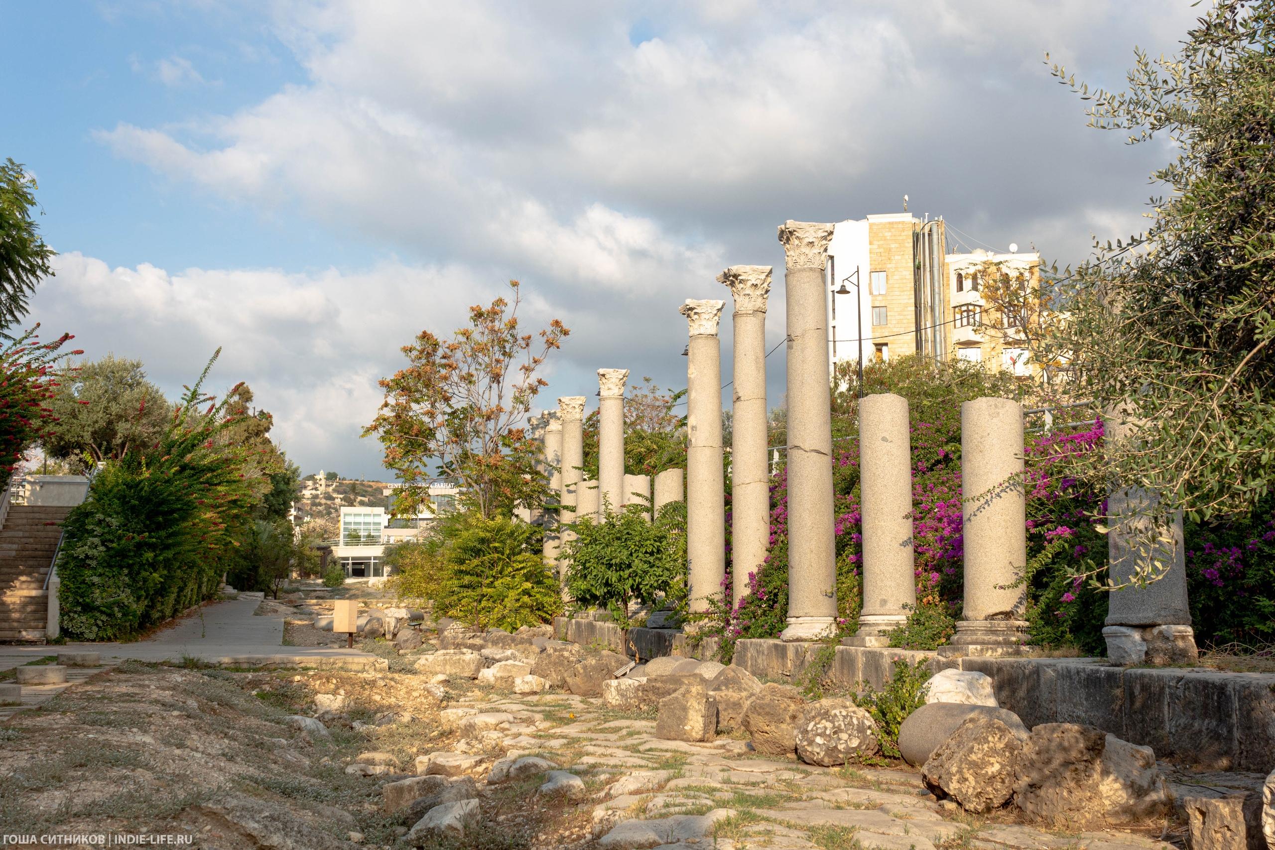 Библ. Римские колонны.