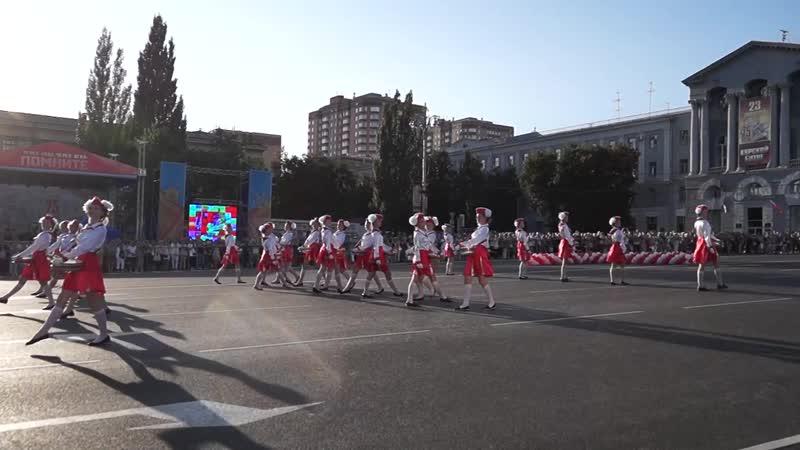 Отряд барабанщиц Беловского района 2018 г 1080p via Skyload 1