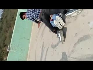 Desi teen Couple caught fucking on terrace