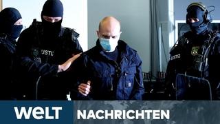 WELT NEWS STREAM: Nach Terror-Anschlag von Halle - Mutmaßlicher Attentäter sagt vor Gericht aus