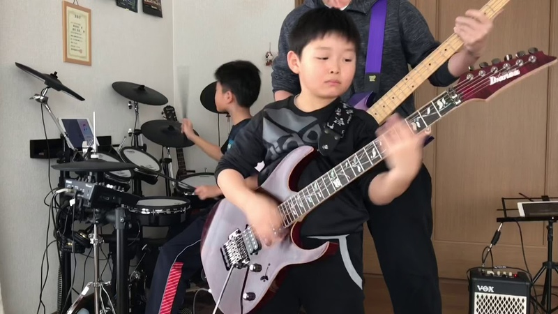 ONE OK ROCK「The Beginning」親子コラボ ギター ドラム ベース
