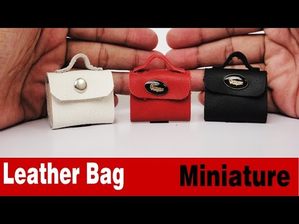 Miniature Handbags DIY Accessories Doll Bag with 3 Colors