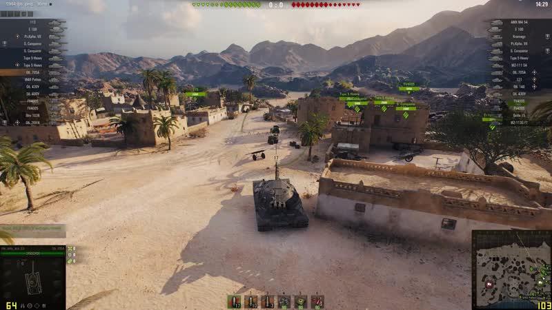 World of Tanks 1 0 тест GTX 1050ti 4gb GTX 1060 3gb 1080p Яндекс Видео Яндекс Браузер 2020 09 26 22 52 24