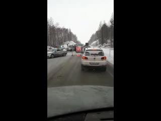 Дтп на Федеральной трассе М-5