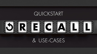 Recall Plugin Quickstart & Use-Cases