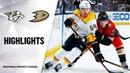 Анахайм - Нэшвилл / NHL Highlights Predators @ Ducks 1/5/20