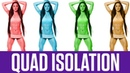 5 Best Quad Isolation Exercises (No More Knee Fat)