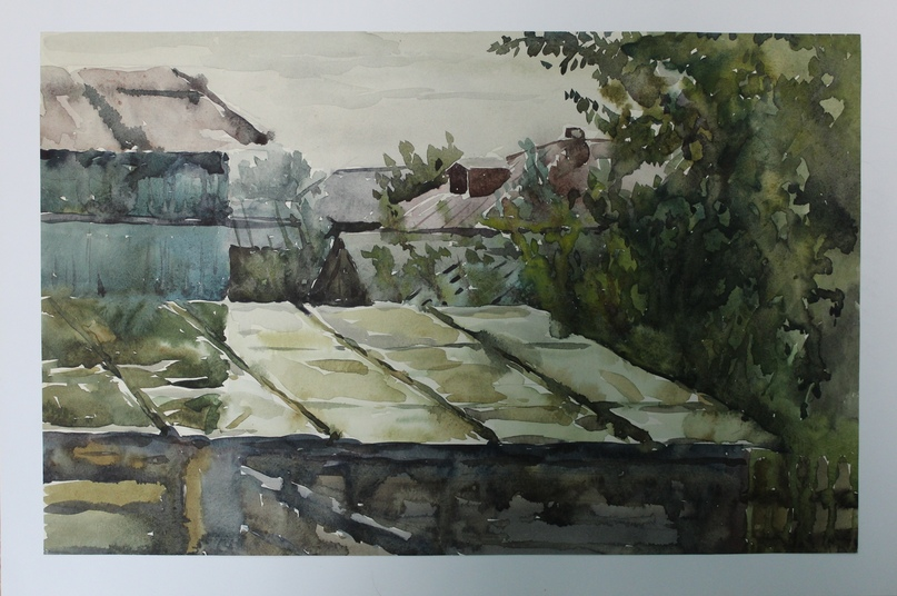 Мокрые крыши