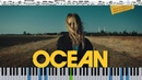Мари Краймбрери - Океан (кавер на пианино ноты)