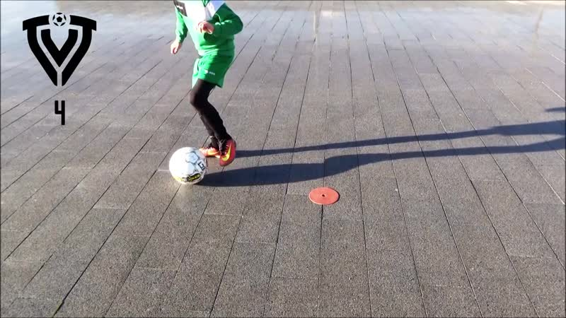 10 BEGINNER BALL MASTERY EXERCISES - U6 - U7 - U8 - U9 - U10 - U11 - U12 - FOOTBALL - SOCCER