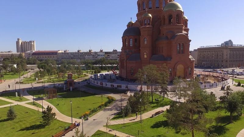 В Александровском саду завершены основные строительно монтажные работы
