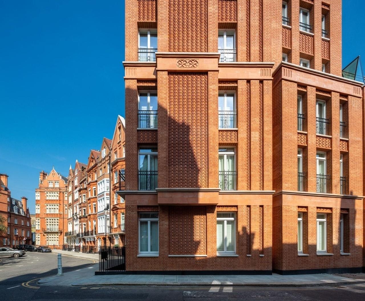 Здание Hans Place в Лондоне