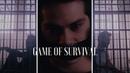 [FMV] Chris Argent/Void!Stiles/Derek Hale - Game of Survival