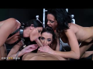Veronica Avluv, Ariella Ferrera, India Summer - Are You Afraid of the Dick, Anal, Milf, Squirt, BDSM, Gape, Bondage
