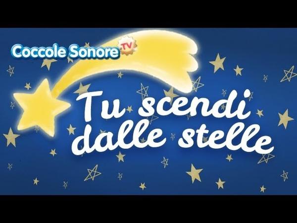 Tu scendi dalle stelle Canzoni per bambini di Coccole Sonore