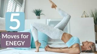 5 упражнений для энергичности и настроения. 5 Exercises For More Energy - BOOST YOUR MOOD! | Rebecca Louise