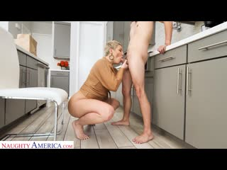Ryan Keely - Makes The Delivery Boy A Cock Sandwich Between Her Tits [2020, Mature, MILF, Big Tits, Big Ass, Latina, 1080p]