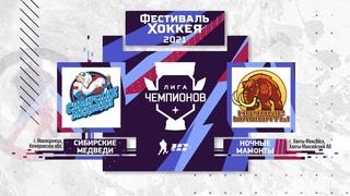 Сибирские Медведи (г.Новокузнецк) – Ночные Мамонты (г.Югра)   Лига Чемпионов ()