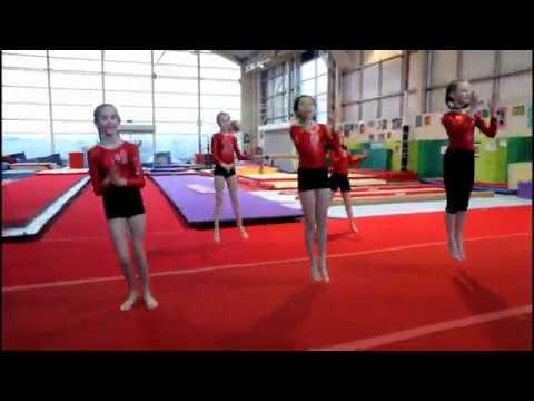 Warm Up 2020 Higher Love Limerick Gymnastics Club Ireland