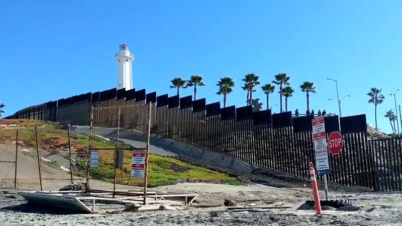 ПАРК ДРУЖБЫ в Сан Диего Мексиканская граница