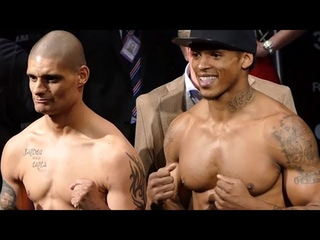 🦁(BEAST!) ANTHONY YARDE🦁 DWARFS OPPONENT, CHRIS HOBBS, AT 175; WEIGH-IN AND FINAL FACE OFF