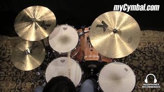 """Used Zildjian 13"""" K/Z Hi Hat Cymbals (UK0829-1071414K)"""