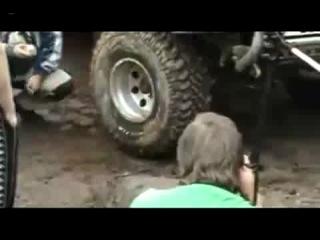 Как быстро накачать шину...