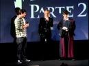 Tom Felton no cinema com os fãs - Parte 2 - Pré-Estreia de Harry Potter Parte 2