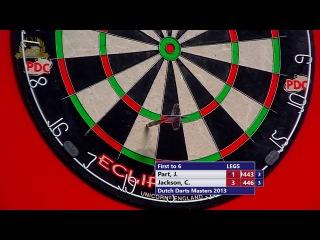 John Part vs Campbell Johnson (Dutch Darts Masters 2013 / First Round)