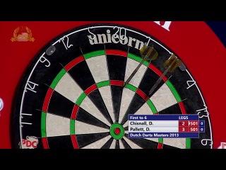 Dave Chisnall vs David Pallett (Dutch Darts Masters 2013 / Second Round)