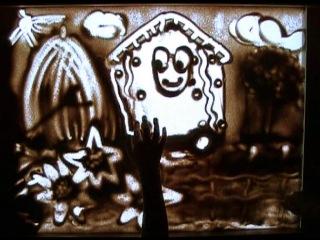 Студия песочной анимации Волшебник Путешествие Улитки по Украине