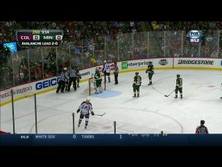 НХЛ 2013 14 Плей оф 1 8 финала 3 матч Колорадо Эвеланш Миннесота Уайлд 22 04 14