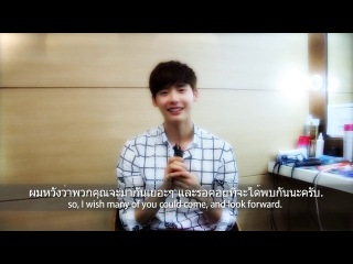 [promote clip] -lee jong suk asia tour fan meeting in thailand 2014 (wz eng/thai sub.)