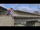 Мост через реку Абин реконструкция продолжается