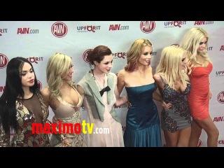 Full AVN AWARDS ARRIVALS Jesse Jane, Kayden Kross, Sophie Dee, Bree Olson UNCUT