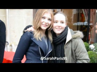 Chloe Moretz in Paris speak about Kick Ass 2
