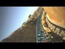 Furius Baco Intamin Launched Roller Coaster Front Seat POV Onride PortAvenutra Spain Port Adventura