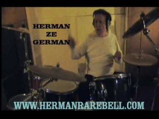 HERMAN RAREBELL  GREAT DRUM SOLO 2010