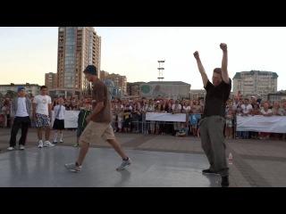 Street battle/Novorossiysk/11/09/2016/ Финал. Bboy Makaron vs Bboy Belka