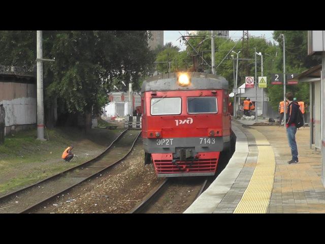 Электропоезд ЭР2Т-71437105 платформа Станколит